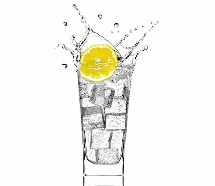 Drink Warm Water with lemon