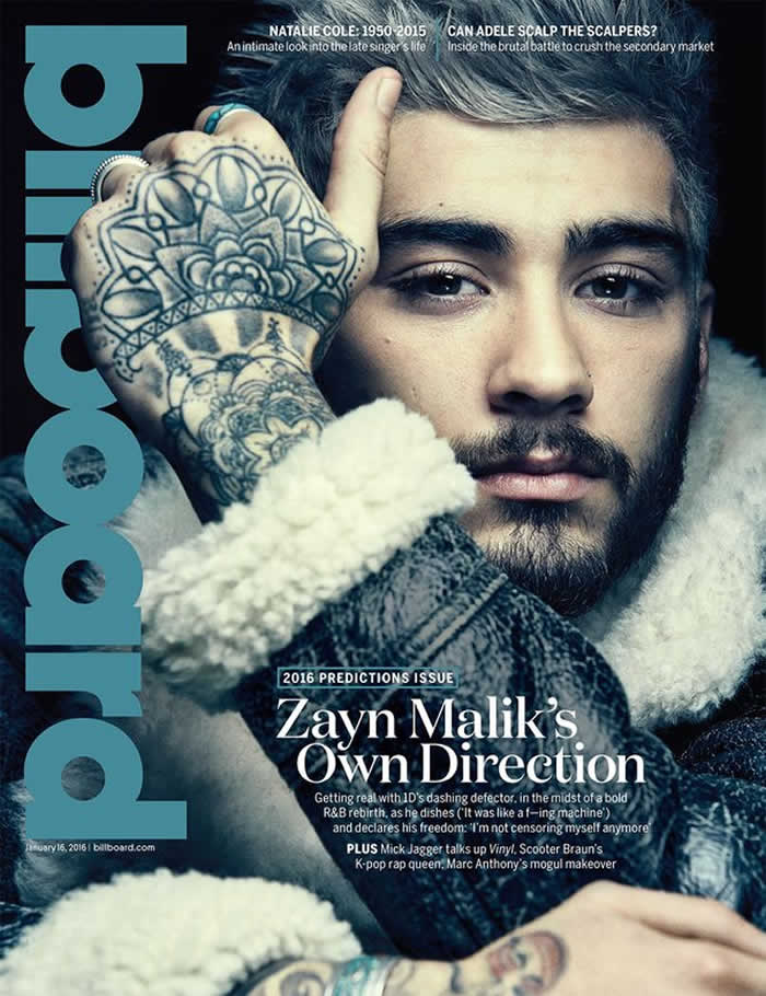 Zayn Malik' Cover Shoot
