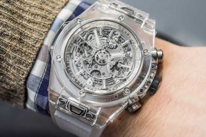 Hublot Big Bang UNICO Sapphire Watch Hands-On
