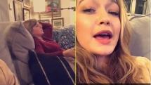 See Taylor Swift and Gigi Hadid Sing Along to Grease: Live