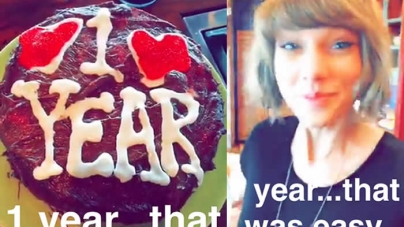 Taylor Swift Shares Pic of Her Anniversary Gift From Calvin Harris: 'One Year Down!
