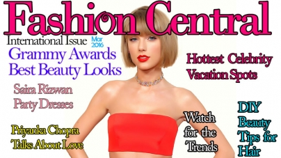 Fashion Central International March 2016 Issue Published