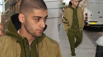 Zayn Malik Cuts A Glum Figure As He Heads Out in NYC