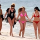 Holly Hagan Sizzles Tiny Pink Bikini Girls Trip