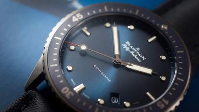 Blancpain Fifty Fathoms Bathyscaphe Watch In Gray Plasma Ceramic