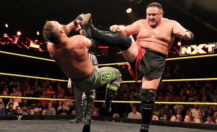 Watch Video: WWE NXT, Eric Young vs. Samoa Joe