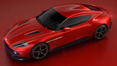 New Aston Martin Vanquish Zagato Concept unveiled