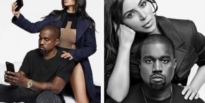 Kim Kardashian Kanye West Harper Bazaar Cover 2016