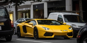 London's Streets Clogged Up by Supercars As Their Rich Owners Arrive For The Summer