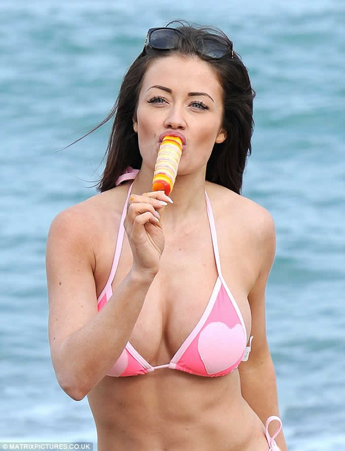 Jess Impiazzi pink bikini
