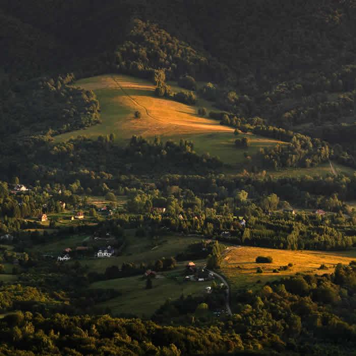 Bieszczady Mountainso by Sebastian Płonka
