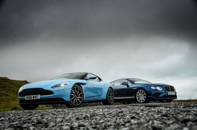 Aston Martin DB11 vs Bentley Continental GT Sport – Grand Tourers Compared