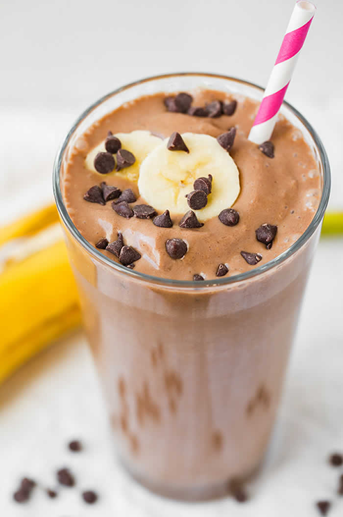 Chocolate and Peanut Butter Smoothie