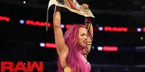Sasha Banks vs. Charlotte – Raw Women's Championship Match