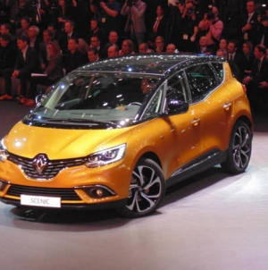 New 2016 Renault Scenic MPV starts from £21500