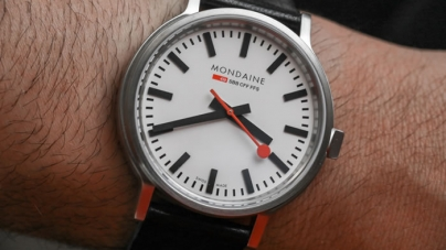 Mondaine Stop2Go Swiss Railways Watch