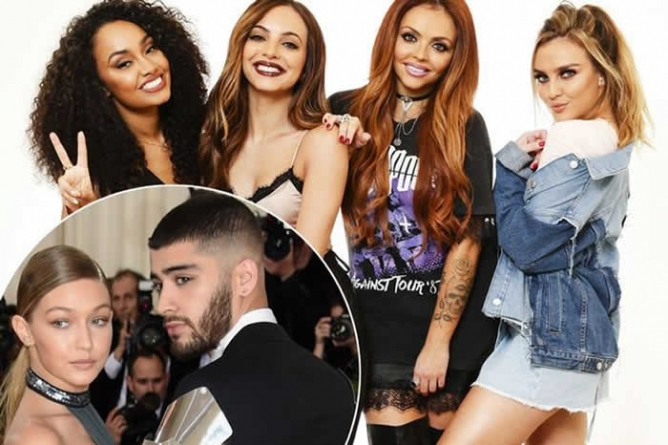 Little Mix Shade Zayn & Gigi Even More In First Version Of 'Shout Out To My Ex' — Lyrics