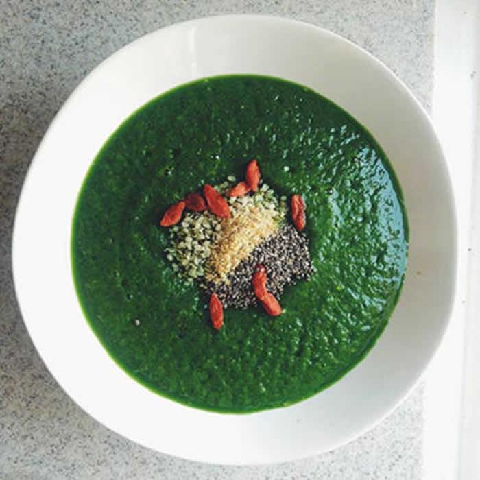 Green Goblin Smoothie Bowl