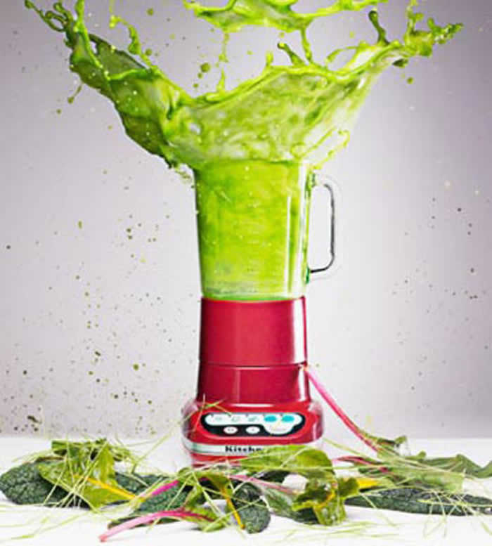 Green Smoothies vs. Green Juice