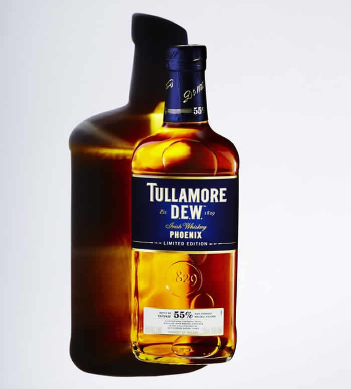 "Tullamore D.E.W. ""Phoenix"" Irish Whiskey"
