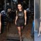 Kim Kardashian Wears Skintight Dress with Virgin Mary on Her Chest
