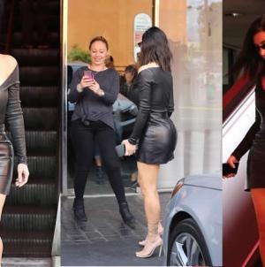 Kim Kardashian Suffers Fake Tan Disaster in Sexy Outfit