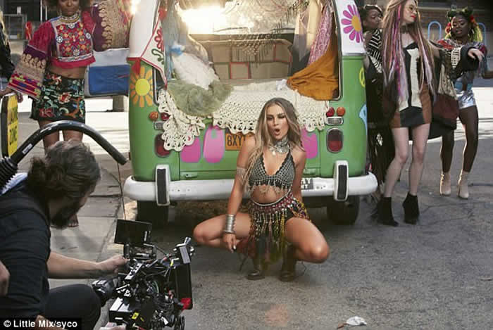 Little Mix Music Video Power Shows Singer's Great Bodies