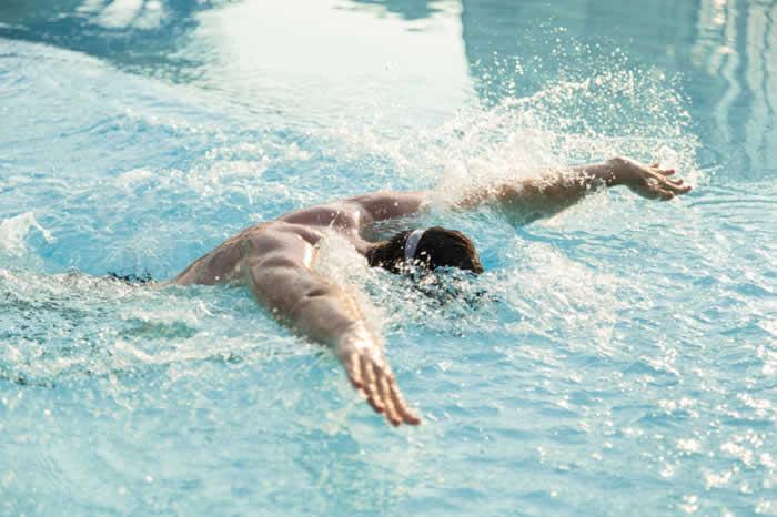 Swim a mile