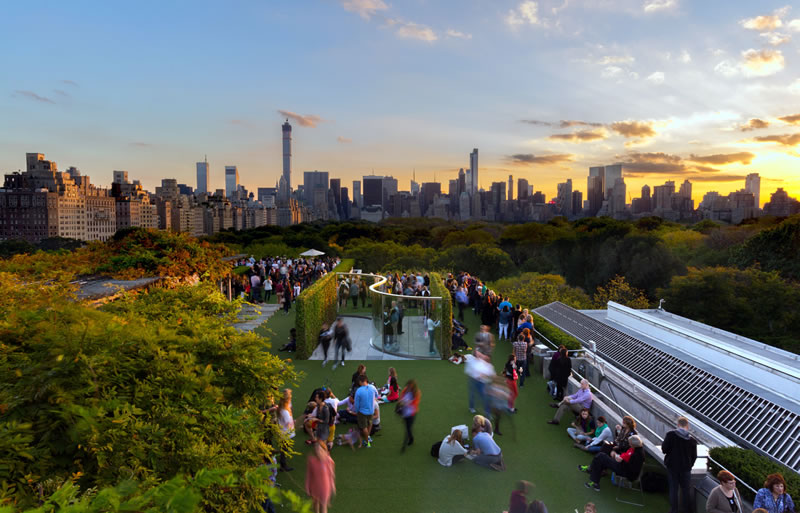THE MET ROOF GARDEN CAFE