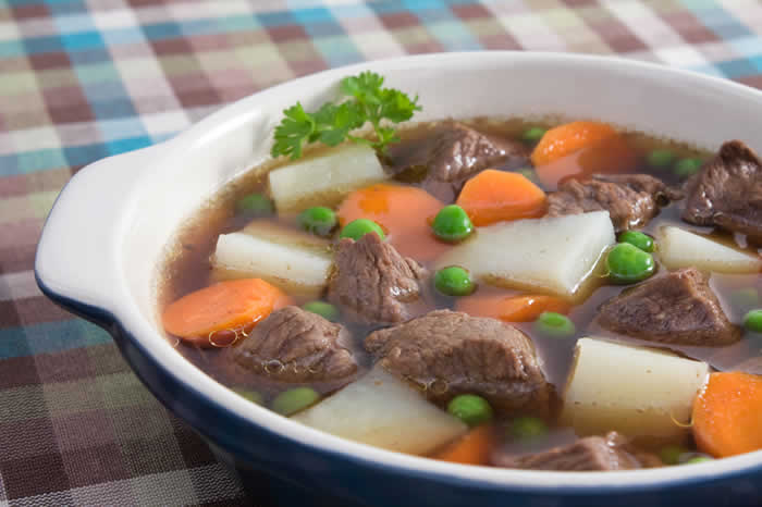 Winter Vegetable and Beef Soup