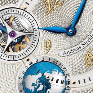 Andreas Strehler Sauterelle À Heure Mondiale Watch
