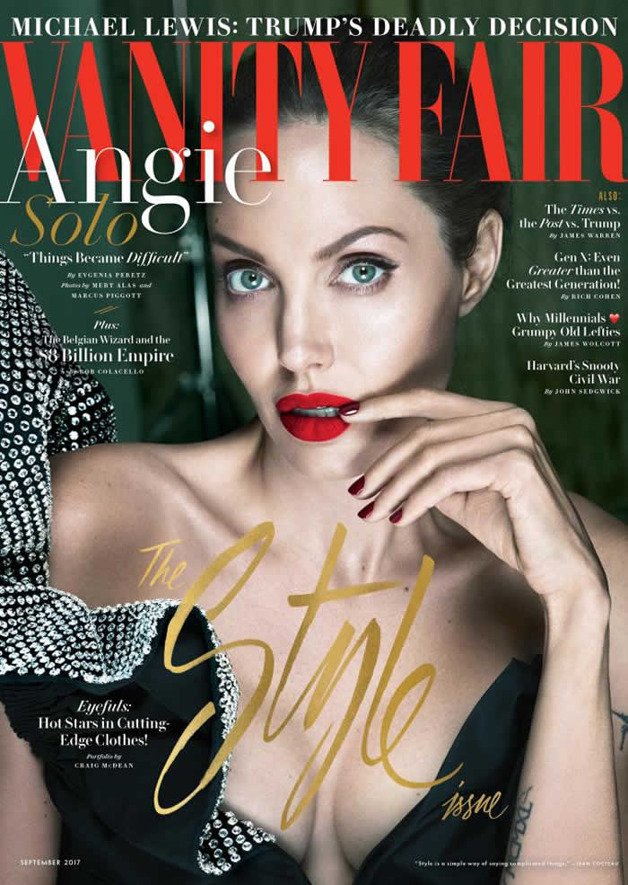 Angelina Jolie says 'things Got Bad' Before Brad Pitt Split and Reveals Bell's Palsy Diagnosis to Vanity Fair