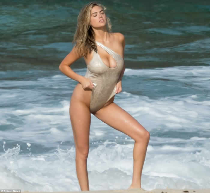 Kate Upton in Bikini for Sports Illustrated Shoot