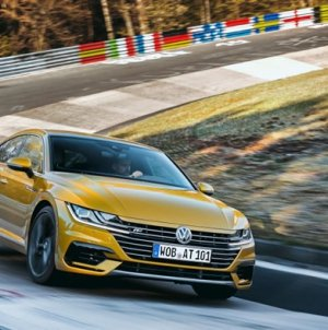 VW Arteon Prototype Gets 409 Horsepower from Turbo VR6