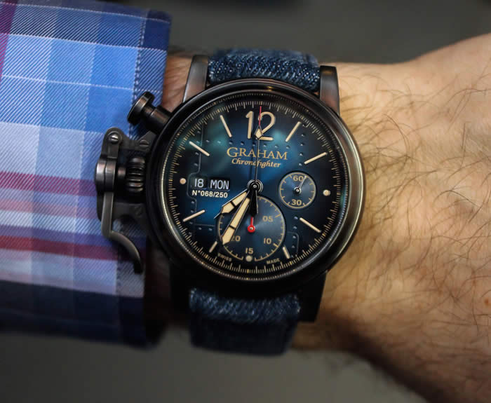 Graham Chronofighter Vintage Aircraft Watch Review