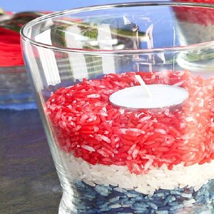 Celebrate! Patriotic Bug-Away Candleholders