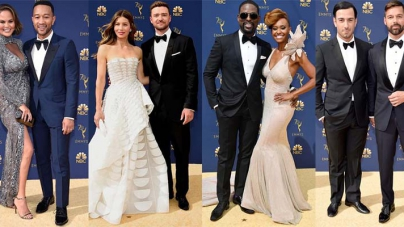 The Cutest Celebrity Couples at the 2018 Emmy Awards