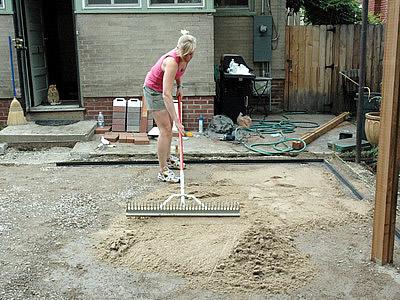 Add Sand