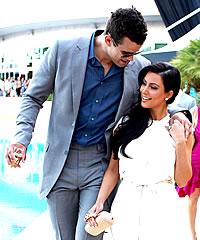 Kim kardashian and kris humphries getting apart