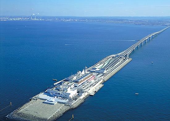Tokyo Bay Aqua Line Japan