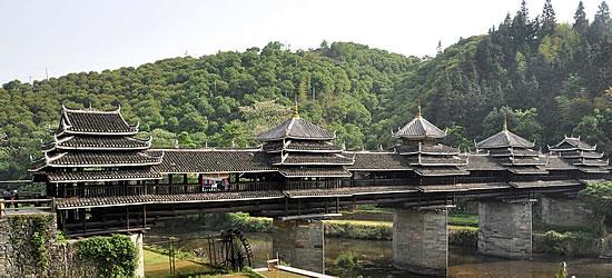 Wind Rain Bridge China