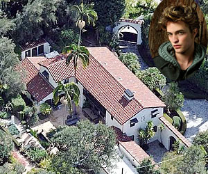 Robert Pattinson Mansion