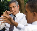 George Clooney and Obama Fundraiser