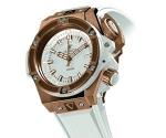 Hublot Oceanographic 4000 King Gold White Wristwatch