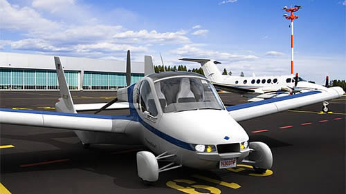 Terrafugia Transition Roadable Aircraft Pics