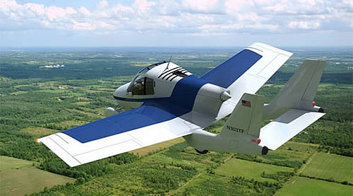 Terrafugia Transition Roadable Aircraft Pictures