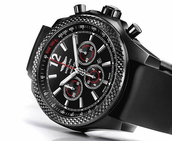 Barnato Bentley 42 Midnight Carbon Watches