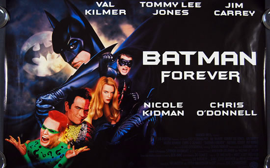 Batman Forever Posters