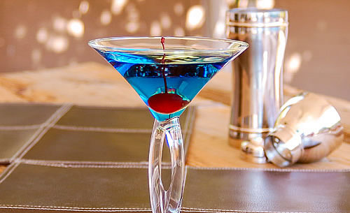 Blue Arrow Cocktail Recipe