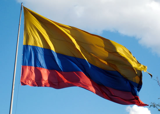 Columbian Flag Photos